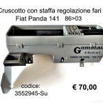 Cruscotto con staffa regolazione fari Fiat Panda