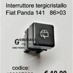 Interruttore tergicristallo Fiat Panda 141 86>03