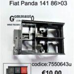 Supporto interruttori Fiat Panda 141 86>03
