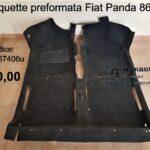 Moquette preformata Fiat Panda 141 86>03