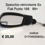 Specchio retrovisore esterno Sx Fiat Punto 188 99>