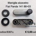 Maniglia alzavetro Dx=Sx Fiat Panda 141 86>03