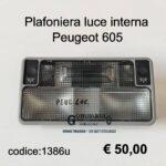 Plafoniera luce interna Peugeot 605