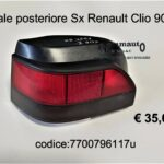 Fanale post. Sx Renault Clio 90>96