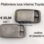 Plafoniera luce interna Toyota