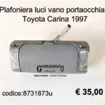 Plafoniera luce portaocchiali Toyota Carina 1997