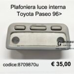 Plafoniera luce interna Toyota Paseo 96>