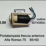 Portalampada freccia anteriore Alfa Romeo 75 85>93