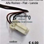 Connettore plafoniera luce interna Alfa Romeo-Fiat-Lancia