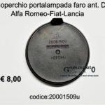 Coperchio portalampada faro Dx Alfa Romeo-Fiat-Lancia