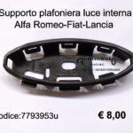 Staffa/supporto plafoniera Alfa Romeo-Fiat-Lancia
