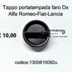 Tappo portalampada faro Dx Alfa Romeo-Fiat-Lancia