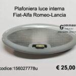 Plafoniera luce interna Fiat-Alfa Romeo-Lancia