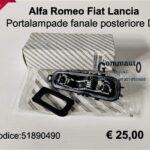 Portalampade fanale post. Dx Fiat Grande Punto/Punto Evo