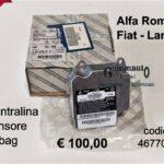 Centralina sensore airbag Fiat Marea 99>02