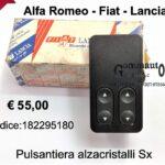 Pulsantiera alzacristalli Sx Autobianchi Y10 92>95