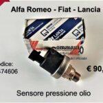 Sensore pressione olio Fiat Coupè-Punto-Stilo