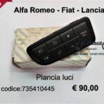 Plancia luci Fiat Grande Punto/Punto Evo