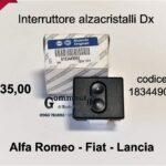 Interruttore alzacristalli Dx Fiat Panda