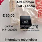 Interruttore retronebbia Fiat-Lancia