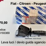 Leva luci Fiat-Citroen-Peugeot