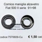 Cornice maniglia alzavetro Fiat 500 II