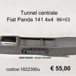 Tunnel centrale Fiat Panda 141 86>03