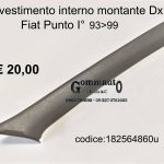 Rivestimento montante Dx Fiat Punto I°