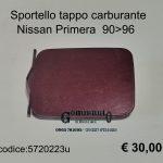 Sportello tappo carbur. Nissan Primera
