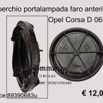 Coperchio portalampada faro Opel Corsa D