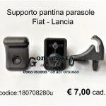 Supporto pantina parasole Fiat-Lancia