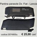 Pantina parasole Fiat-Lancia