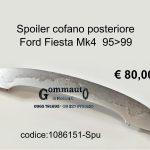 Spoiler cofano post. Ford Fiesta Mk4