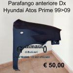 Parafango ant. Dx Hyundai Atos Prime
