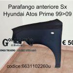 Parafango ant. Sx Hyundai Atos Prime