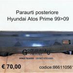 Paraurti posteriore Hyundai Atos Prime