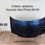 Cofano anteriore Hyundai Atos Prime