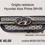 Griglia radiatore Hyundai Atos Prime