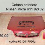 Cofano anteriore Nissan Micra K11 92>02