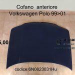 Cofano anteriore Volkswagen Polo 99>01