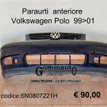 Paraurti anteriore Volkswagen Polo 99>01