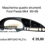 Mascherina quadro strumenti Ford Fiesta