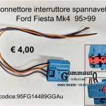 Connettore interruttore spannavetro Ford