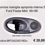 Cornice maniglia apriporta Ford Fiesta