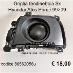 Griglia fendinebbia Sx Hyundai Atos