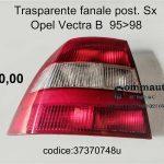 Trasparente fanale post. Sx Opel Vectra