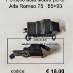 Pomello asta sicura porta Alfa Romeo 75