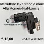 Interruttore leva freno a mano Fiat-Alfa-Lancia