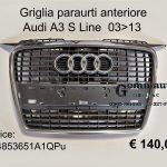 Griglia paraurti ant. Audi A3 S Line