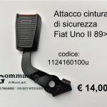 Attacco cintura di sicurezza Sx Fiat Uno